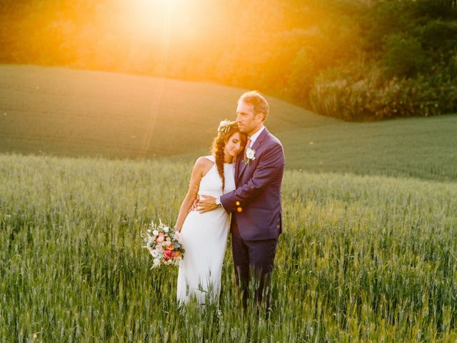 The wedding of Aurore and Anthony