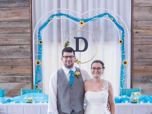 The wedding of Trisha and Nate