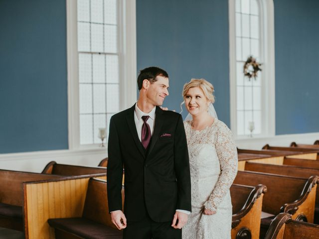 The wedding of Sean and Marie