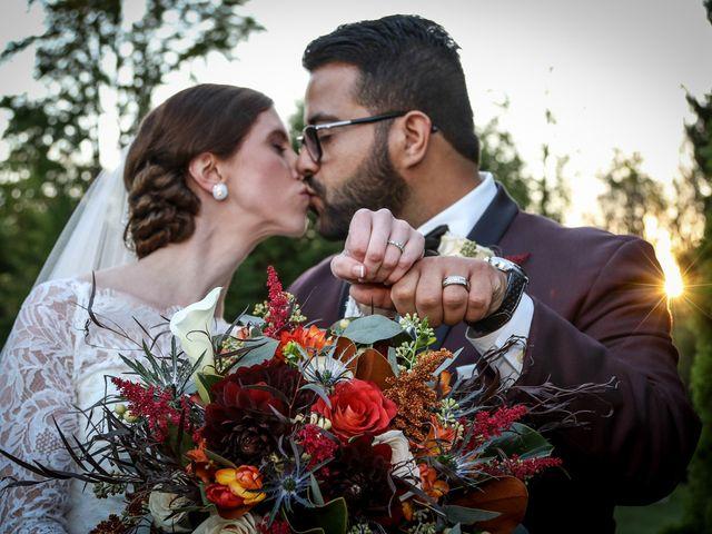 The wedding of Jennifer and Harrison