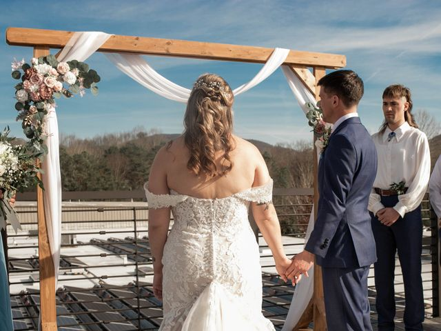 Steven and Hannah's Wedding in Asheville, North Carolina 9