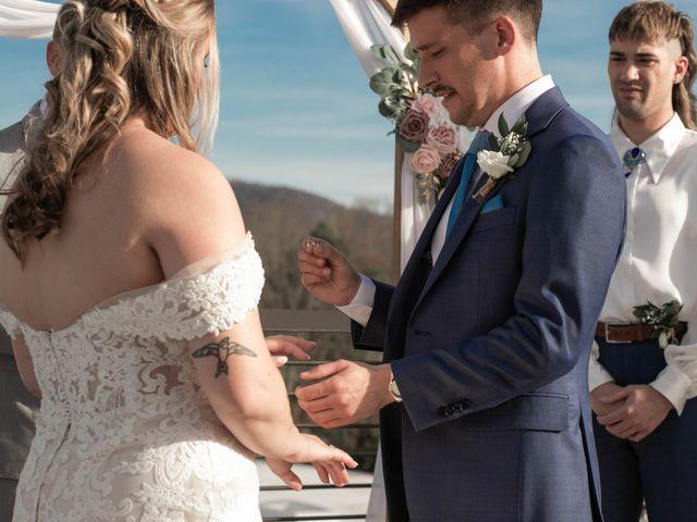 Steven and Hannah's Wedding in Asheville, North Carolina 10