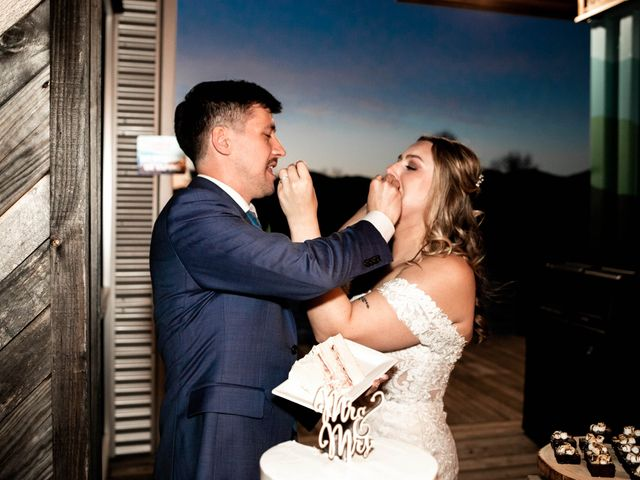 Steven and Hannah's Wedding in Asheville, North Carolina 15