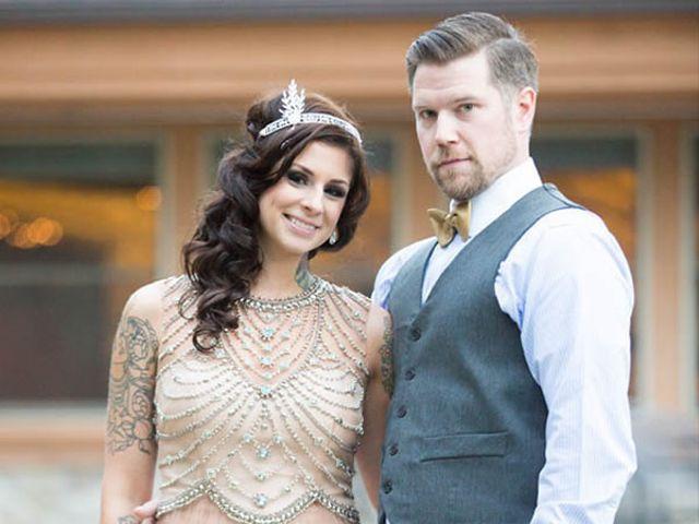The wedding of Chris and Sarah