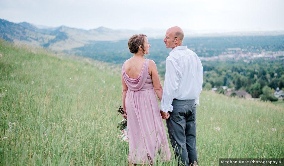Tim and Cindie's Wedding in Boulder, Colorado