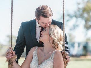 The wedding of Monika and Trae