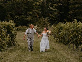 The wedding of Dayna and Jim