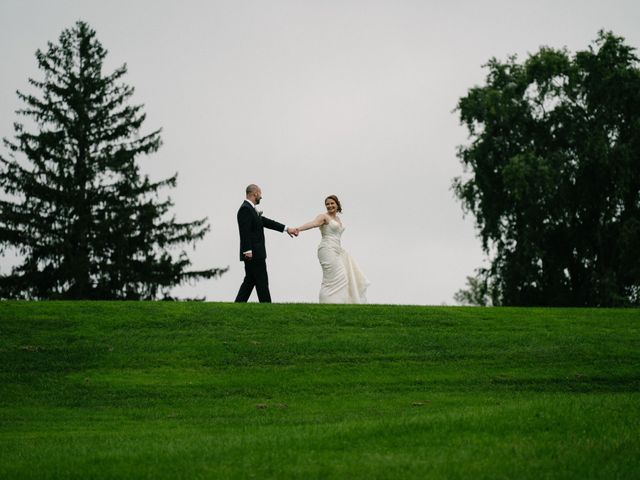 Mike and Jeanelle's Wedding in Garrison, New York 11
