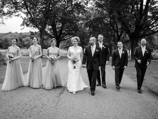 Mike and Jeanelle's Wedding in Garrison, New York 21