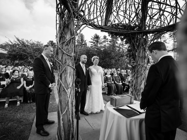 Mike and Jeanelle's Wedding in Garrison, New York 26