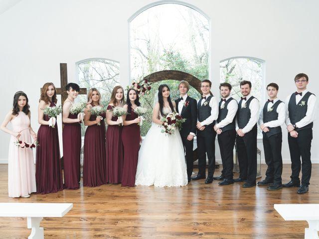 Andrew and Lauren's Wedding in Plantersville, Texas 9