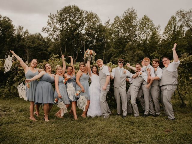 Jim and Dayna's Wedding in Conneaut, Ohio 4
