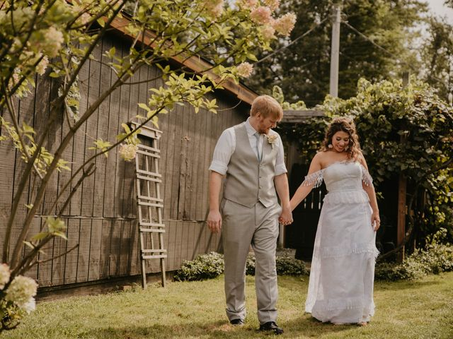 Jim and Dayna's Wedding in Conneaut, Ohio 7