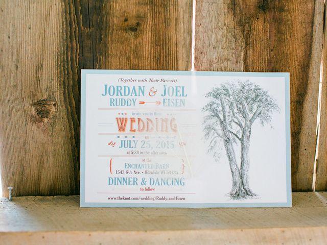 Jordan and Joel's wedding in Wisconsin 2