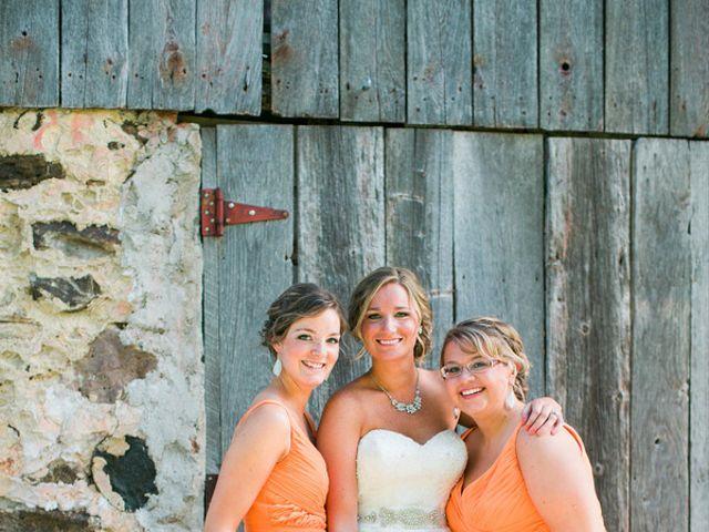Jordan and Joel's wedding in Wisconsin 5