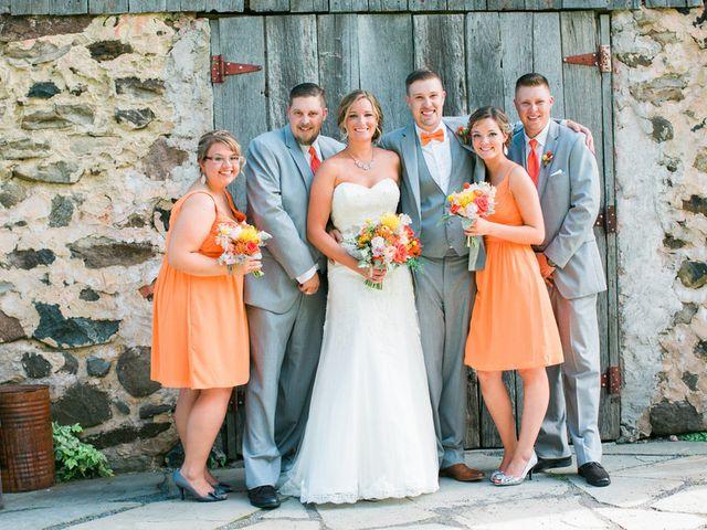Jordan and Joel's wedding in Wisconsin 7