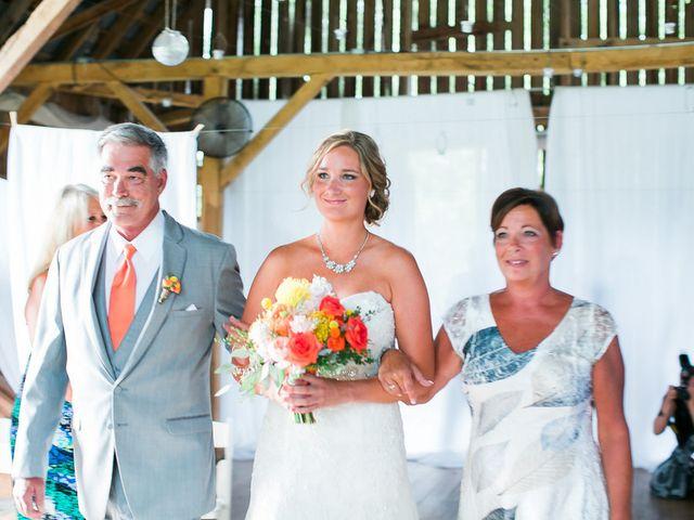 Jordan and Joel's wedding in Wisconsin 9