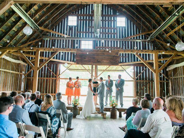 Jordan and Joel's wedding in Wisconsin 10