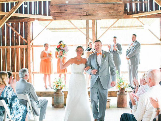 Jordan and Joel's wedding in Wisconsin 11