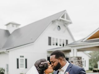 The wedding of Ebony and Bendrick