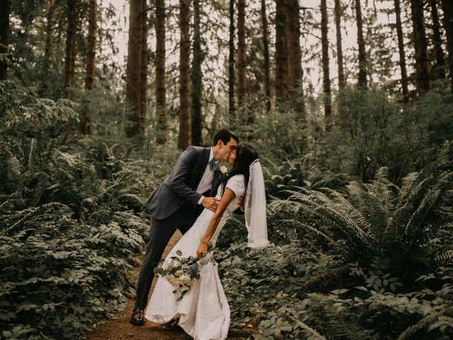The wedding of Milena and Spencer