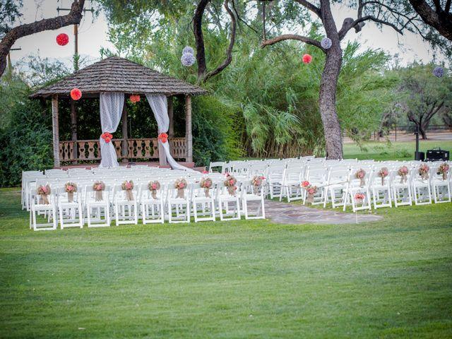 Brad and Megan's Wedding in Tucson, Arizona 6