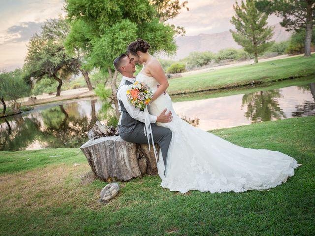 Brad and Megan's Wedding in Tucson, Arizona 7