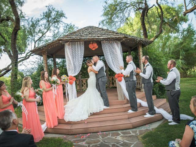Brad and Megan's Wedding in Tucson, Arizona 18