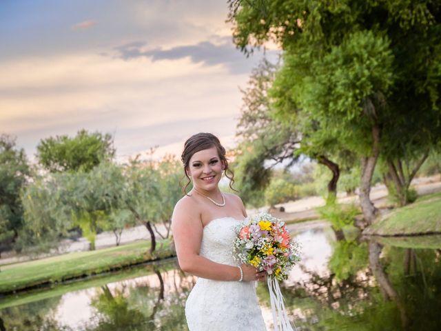 Brad and Megan's Wedding in Tucson, Arizona 22