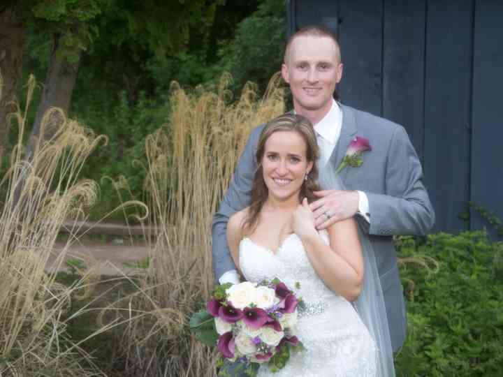 The wedding of Becky and Brendan
