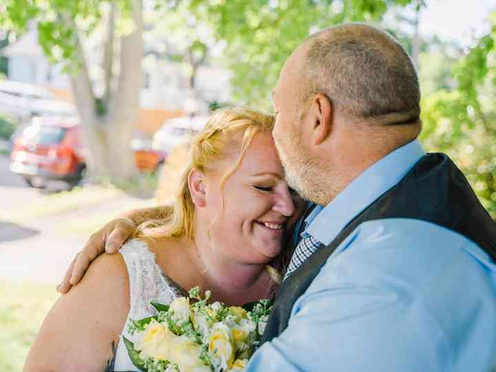 The wedding of Jessica and Pete