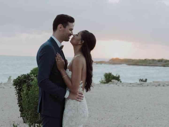 The wedding of Tiarah and Tim