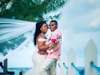 The wedding of Jhevonn and Zoe