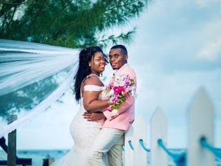 The wedding of Jhevonn and Zoe