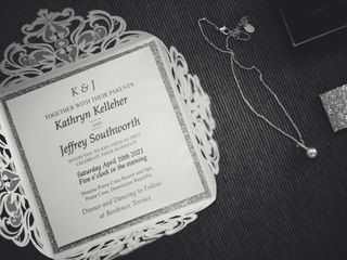 The wedding of Katie and Jeff 1