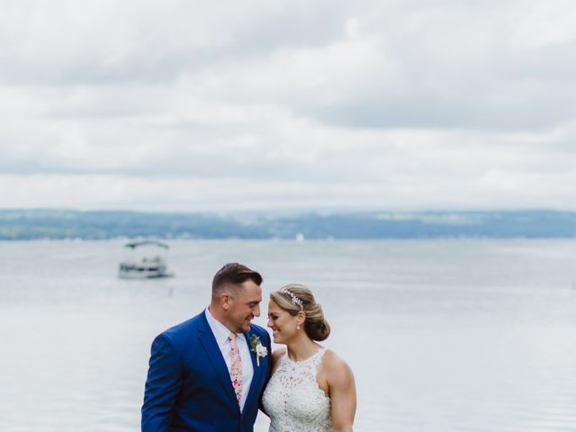 Mike and Kathleen's Wedding in Canandaigua, New York 7