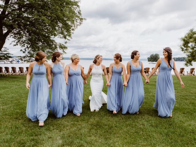 Mike and Kathleen's Wedding in Canandaigua, New York 11