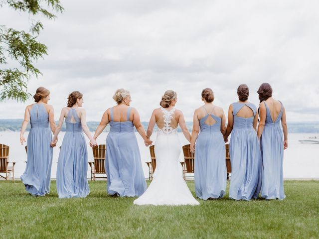 Mike and Kathleen's Wedding in Canandaigua, New York 12
