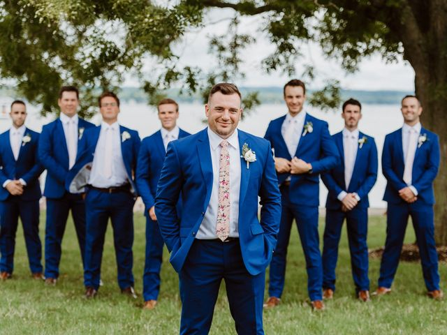 Mike and Kathleen's Wedding in Canandaigua, New York 14