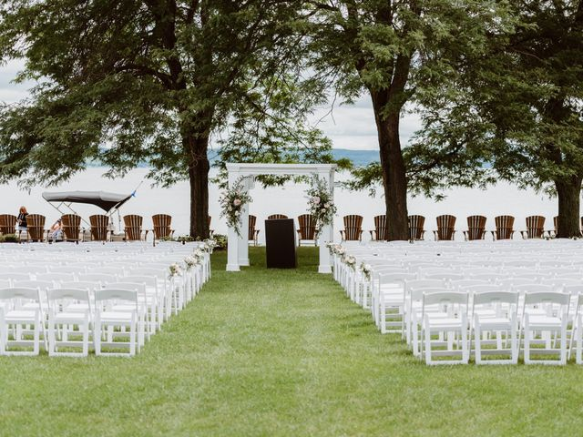 Mike and Kathleen's Wedding in Canandaigua, New York 16
