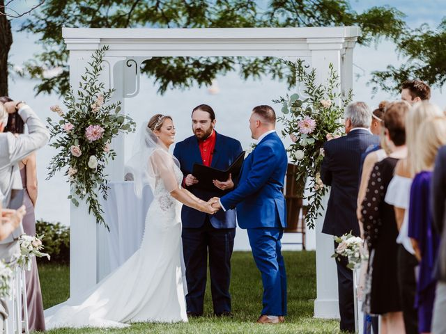 Mike and Kathleen's Wedding in Canandaigua, New York 20