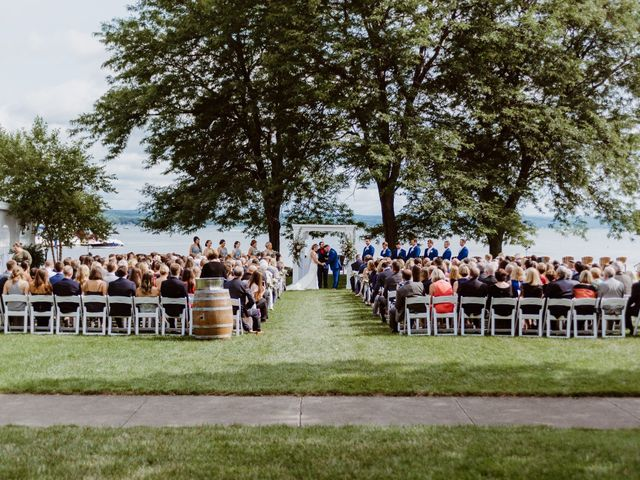 Mike and Kathleen's Wedding in Canandaigua, New York 21