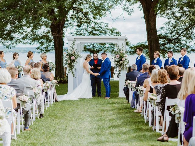 Mike and Kathleen's Wedding in Canandaigua, New York 22