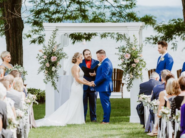 Mike and Kathleen's Wedding in Canandaigua, New York 23