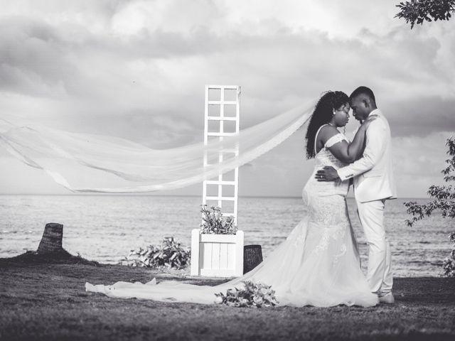 Zoe and Jhevonn's Wedding in Oracabessa, Jamaica 1