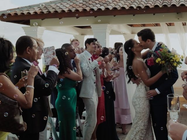 Tim and Tiarah's Wedding in Willemstad, Curacao 2
