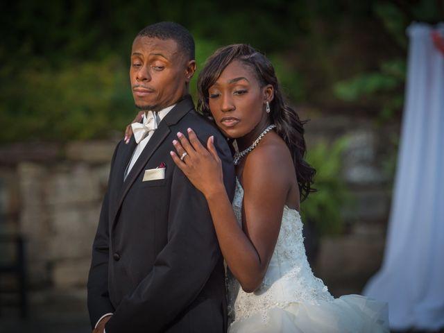 The wedding of Latoya and Steve
