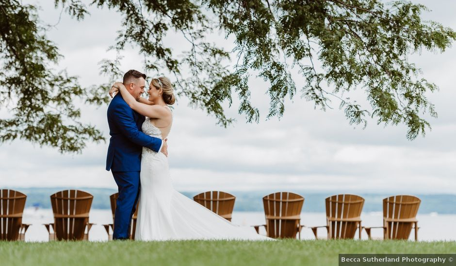 Mike and Kathleen's Wedding in Canandaigua, New York