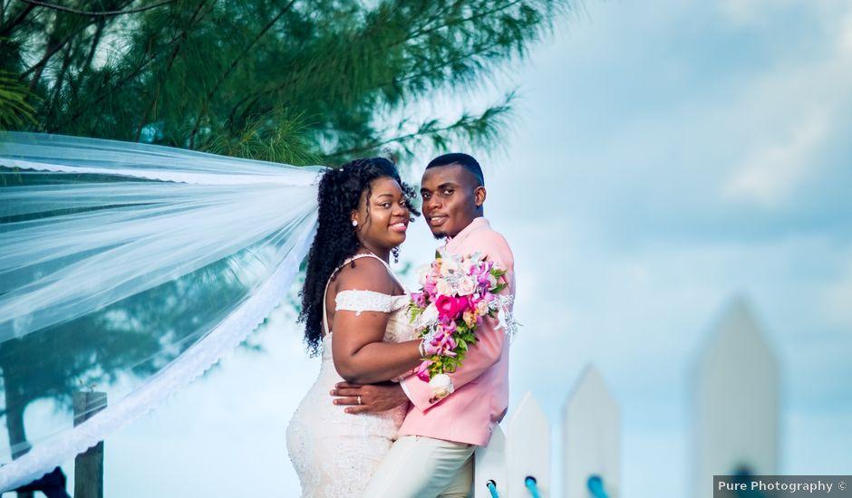 Zoe and Jhevonn's Wedding in Oracabessa, Jamaica