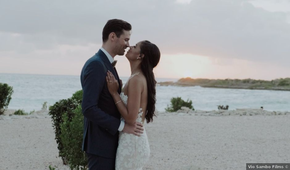 Tim and Tiarah's Wedding in Willemstad, Curacao